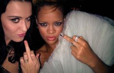 Gallery: 50 Pictures of Musicians Giving The Middle Finger