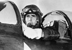 Ted Williams left major league baseball to serve his country as a fighter pilot during the Korean War.  That makes him more a hero to me than his record-breaking batting average.