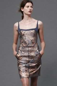 #J.Mendel Resort 2013 #Trend Metallics