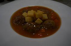 Albondigas de rabo de toro #manjaresdelavida #RestauranteAsturianomadrid #RestauranteAsturiano #RestauranteBarrioSalamanca