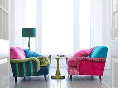 Colourful Settees