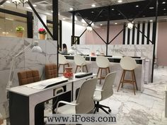 Nail Bar For Salon Design By IFoss Inc Build Nailsalon Construction