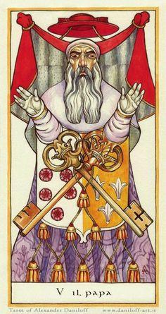 Tarot. Major Arcana by Alexander Daniloff, via Behance