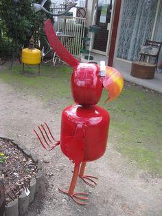 Big Bird Garden Art