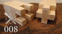 "Joint Venture Ep. 8: Cross-shaped mortise and tenon splice ""Juji mechiir..."