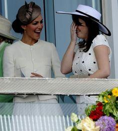 Duchess Catherine and Princess Eugenie of York
