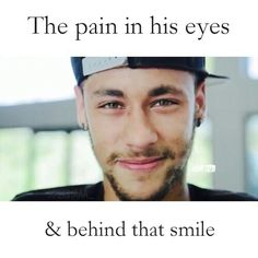 That smile can not hide the pain. Wish you the best Neymar!! You'll get better before you know it !! Vamos Brasil!!