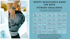 Strength Bands, Fun Workouts, Exercise Routines, Fitness Tips, Fitness Challenges, Workout Challenge, Glutes, Workout Programs, Booty