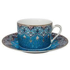 Philippe Deshoulieres Dhara Peacock Tea Saucer Home - Bloomingdale's
