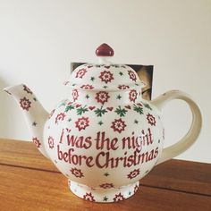 Personalised Joy Star 4 Cup Teapot (Christmas 2015) Discontinued