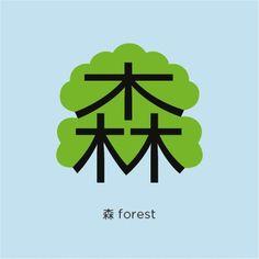 Forest Pinyin: 森 sēn (sen 1)
