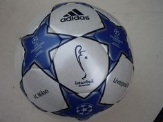 Adidas Finale Istambul 2005 UEFA Champions League Match Ball 485947c999d66