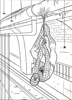 Free-Spiderman-Coloring-Pages.jpg (1382×1919)