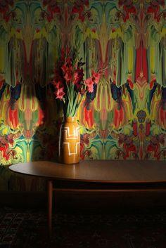 Timorous Beasties Wallcoverings - Marble Gum. Shop - Timorous Beasties - CRAZY BEAUTIFUL things here!!!