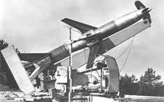 Rheintochter was a German surface-to-air missile developed during World War II. Its name comes from the mythical Rheintöchter (Rhinemaidens) of Richard Wagner's opera series Der Ring des Nibelungen.