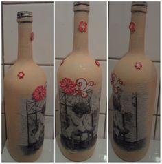 fles met gesso