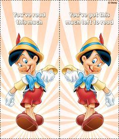 Pinocchio Bookmarks 04