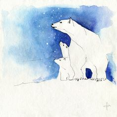 Awsome Polar Bear art