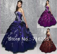 Cheap Stock Quinceanera Dresses Embroidery Beaded Ball Gown Prom Dresses SZ6+8+10+12+14+16-in Quinceanera Dresses from Apparel & Accessories on Aliexpress.com