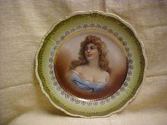 ElBogen Made Austria Vienna Style Portrait Plate elegant Lady