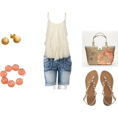 summertime, created by everythingzrosy on Polyvore