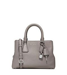 Camille Small Leather Satchel  by Michael Kors