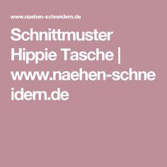 Schnittmuster Hippie Tasche | www.naehen-schneidern.de