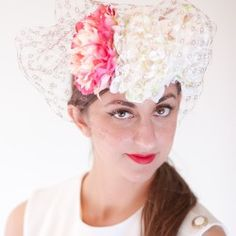 Fiorella by Fielden Willmott Millinery.    Featured on the Fashion at the Races website.     Available today!     http://fashionattheraces.com/