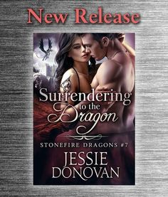 Jessie Donovan  Ever wondered what happens when a female dragon-shifter finds her true mate in a human male? Well the wait is over! Watch two alpha personalities overcome their past accept their attraction and fall for each other all with some action humor and suspense thrown in. Nikki and Rafes story Surrendering to the Dragon is finally here!  It's a full-length book (302 pages) with a happy ending of course and my usual US $4.99 / 3.99 / 4.99 or local currency equivalent (a bit higher in…