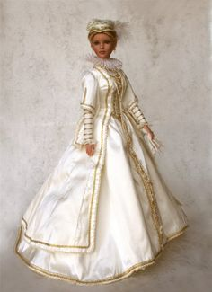A while ago, I was surfing the internet for portraits of royal ladies, and I came across this wonderful collection of historical dolls creat...