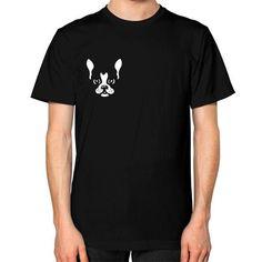 STOP ANIMAL VIOLENCE Unisex T-Shirt (on man)