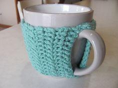 Ravelry: Easy Crocheted Mug Cozy pattern by Jenna Jones