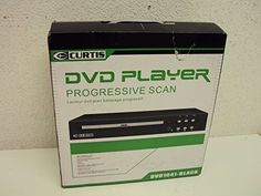 Curtis DVD1041 Compact DVD Player Dvd Players, Compact