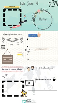 Todo Sobre Mi | @Piktochart Infographic I made this tonight on Piktochart! This website is slightly addicting. :)