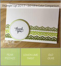 One of the main highlights of a Stampin' Up! event is all the sneak peek opportunities. We saw so many beautiful things on Saturday – including the 2017-2019 In Color range. You are g…