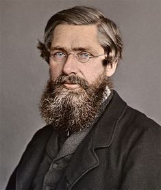 Alfred Russel Wallace (8 January 1823 – 7 November 1913) was a British naturalist, explorer, geographer, anthropologist, and biologist. He is best known for independently conceiving the theory of evolution through natural selection; his paper on the subject was jointly published with some of Charles Darwin's writings in 1858. This prompted Darwin to publish his own ideas in On the Origin of Species.