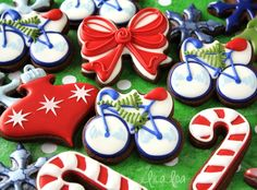 How to Make Decorated Bicycle Sugar Cookies -- Tutorial