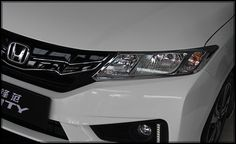 59.50$  Buy here - http://aiou0.worlditems.win/all/product.php?id=32658651569 - High quality ABS chrome 2pcs front headlamp trim+4pcs tail lamp trim For Honda City 2015