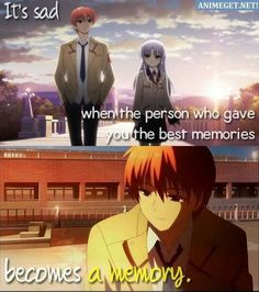 It's really sad T. Sad Anime Quotes, Manga Quotes, Angel Beats, Anime People, Anime Guys, Anime Crying, Quotes Deep Feelings, Anime Life, Noragami