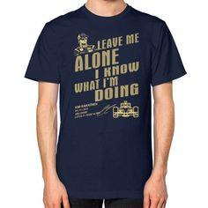 LEAVE ME ALONE kimi Unisex T-Shirt (on man)