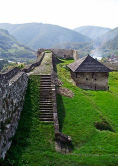 Jajce, Castle Wall  Bosnia y Herzegovina
