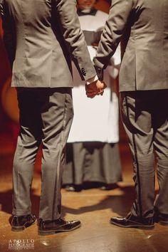 gay wedding ceremony photography
