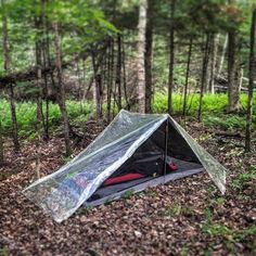 Picture of Ultralight clear tarp tent (2P)