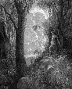 El Paraíso Perdido de John Milton ilustrado por GustaveDoré
