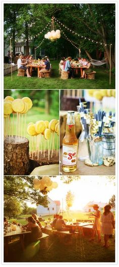 Teen Outdoor Summer Party Ideas