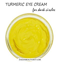 turmeric eye cream for dark circles and fine lines
