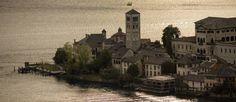 Lago d'Orta nel Orta San Giulio, Piemonte