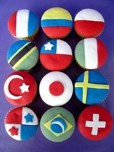 welcome home cupcakes for traveller friends