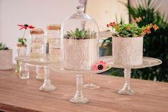 DIY mariage petit budget : des présentoirs à gâteaux