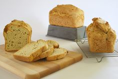 Yeast-Free Bread in the Oven USING PAMELAS GLUTEN FREE BREAD MIX, EGG FREE OPTION